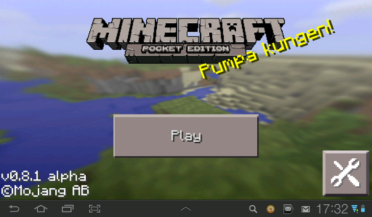 Minecraft - Pocket Edition (PE) v0.8.1 RUS